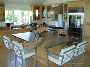 kitchen island stainless steel top stainless steel island top custom modern kitchen other metro by custom