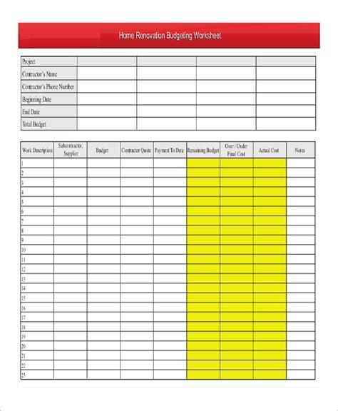 home budget worksheet teacheng us