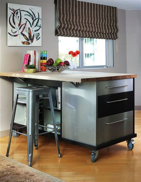 rolling kitchen island with seating 10 practical versatile and multifunctional rolling 7800