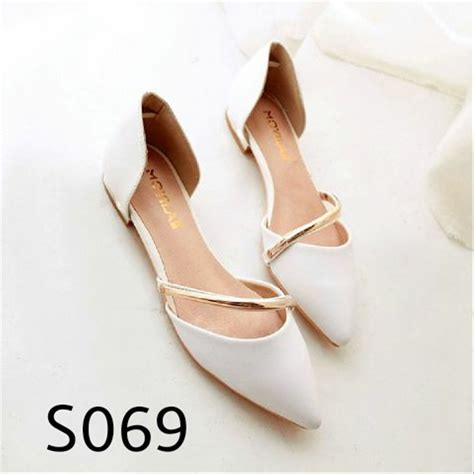 jual termurah wedges sendal sepatu flat shoes high heels harga grosir murah c12560 di lapak