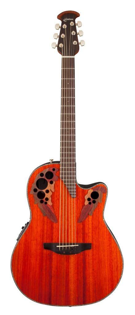 Amazon.com: Ovation CE44P-PD Acoustic-Electric Guitar