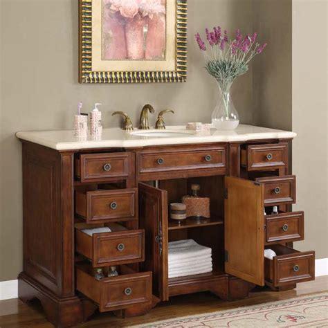 58 Inch Bathroom Vanity Cabinet 58 Quot Perfecta Pa 273 Single Sink Cabinet Bathroom Vanity