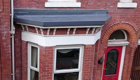 Window In Roof Is Called by Small Bay Window Roof Replaced Altrincham Greater