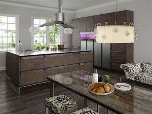 Comfortable and practical family kitchen designs ...