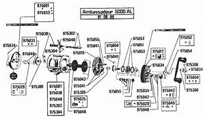 Abu Garcia Reel Parts Diagram