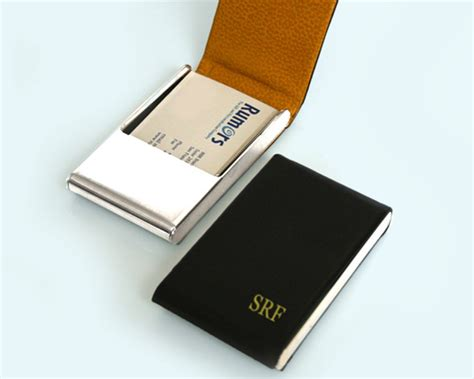 Leather Business Card Case Personalized Business Card Case American Express Business Card Cash Advance Sound Engineer Templates Free Qr Code Generator Delivery Create An Electronic In Outlook 2013 Ny Pre Approval For Email Signatures