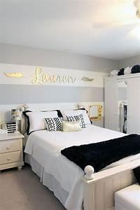 Teen girls room closet reading nook updated room for Popular millennial teen girl bedroom ideas
