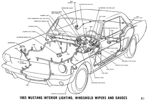 1967 Ford Mustang Wire Harnes Diagram by Fuse Block On A 1965 Mustang Coupe Ford Mustang Forum