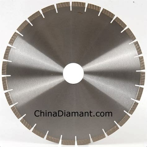 china granite cutting saw blades with spiral turbo