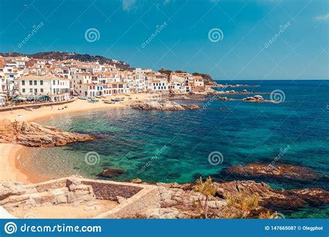Sea Landscape With Calella De Palafrugell, Catalonia ...