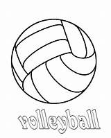Volleyball Coloring Print Pages Court Drawing Quotes Preschool Cute Sport Getdrawings Colornimbus sketch template
