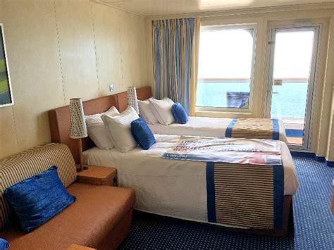 funky single beds a cruise on beautiful carnival vista