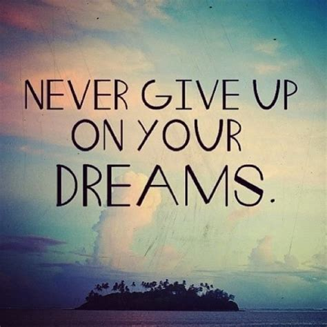 Never Give Up On Your Dreams €� Intuitive Kb
