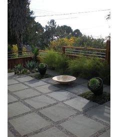 Porch Daniel Nolan by Pavers With Moss Mexican Pond Pebbles Lurvey Landscape