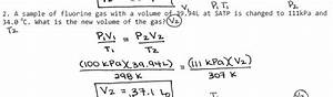 Gas Laws - Chemistry 20