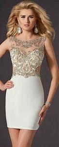 Cailloux Blanc Pas Cher : robe de soir e courte pas cher photos de robes ~ Dailycaller-alerts.com Idées de Décoration