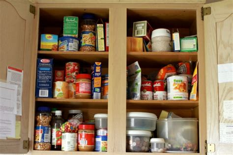 Food Cupboards by 6 Tips For Creating An Edited Kitchen Lifeedited
