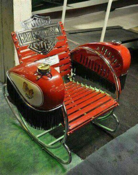 harley lawn rocking chair harley davidson