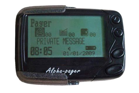 alpha numberic pager wireless beeper gpn