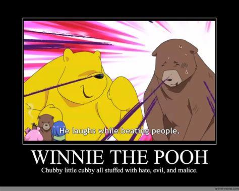 Winnie The Pooh Meme - winnie the pooh anime meme com