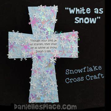 snowflake cross craft for preschool bible 989 | 2a80babe737d51c1e15a8232350f4d83