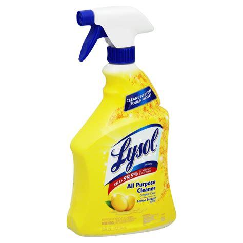 Lysol All Purpose Cleaner, Disinfectant, Lemon Breeze, 32