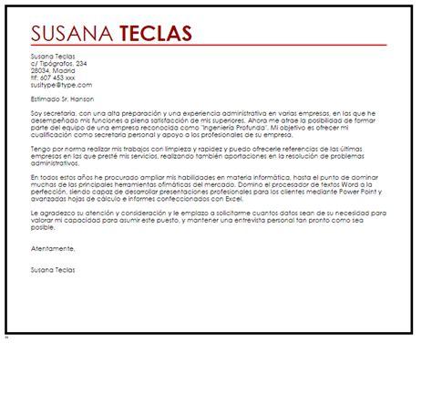 foto de Carta De Presentación Administrativo Carta de