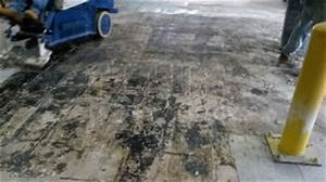 Concrete floor renovations titus restoration for How to remove cutback adhesive from concrete floor