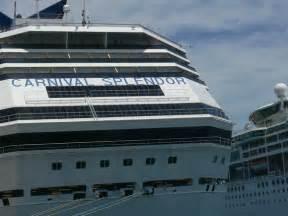 carnival splendor cabin 8459 aft wraparound cruise