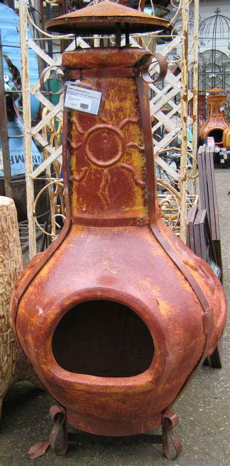Mexican Fireplace Chiminea by I Need A Chiminea For The Garden Patio Chiminea