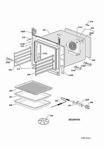 Electrolux Eob98000x  94104724200  Oven Oven Spare Parts Diagram
