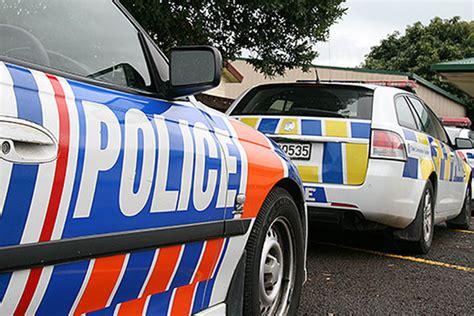 sunlive police pursuit ends  crash  bays news