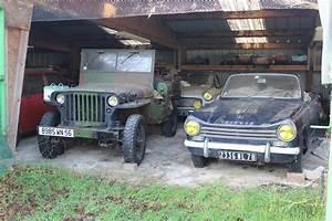 Vehicule Utilitaire D Occasion En Bretagne : 70 v hicules anciens retrouv s dans une grange en bretagne photo 7 l 39 argus ~ Gottalentnigeria.com Avis de Voitures
