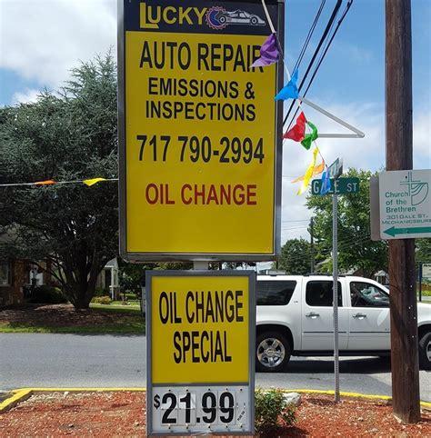 lucky auto repair convenience store mechanicsburg