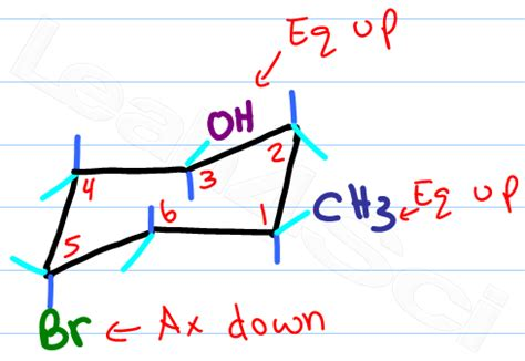 Chair Cyclohexane Axial Equatorial by Drawing Chairs In Organic Chemistry Thesecretconsul