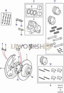 Rear Brake Calipers And Discs - With Abs