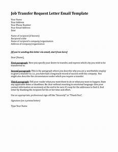 template for job transfer request letter any suitable With cover letter for job in another state