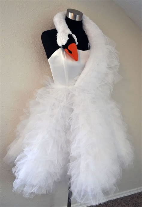 swan wedding dress inspired by bjork clothing