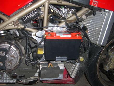 Ducati 848 Fuse Box by Battery Box For Smaller Battery Ducati Ms The Ultimate