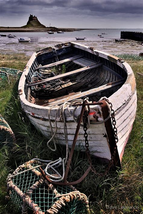 Wooden Boat Photography by Quot Boat And Lobster Pots Lindisfarne Quot By Dave Lawrance