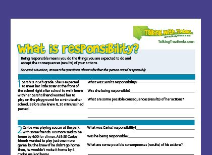 what is responsibility responsibility definition for