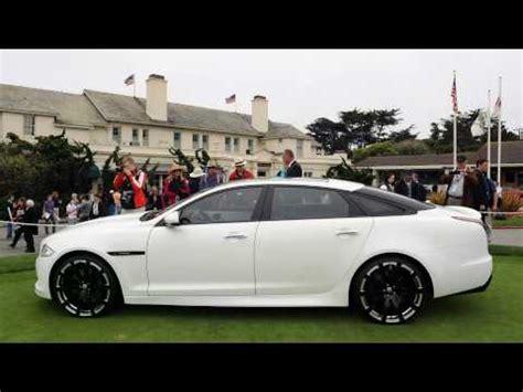 2010 Jaguar Xj75 Platinum Concept Debut At Pebble Beach