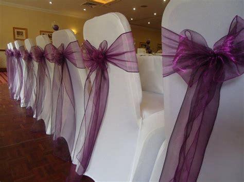 faire un noeud de chaise des housses de chaise pour votre décoration de mariage
