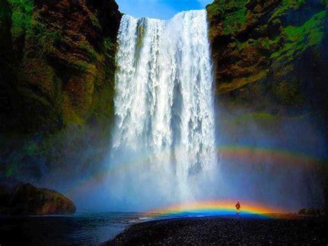 Waterfalls+and+rainbows  Free Waterfall And Rainbows
