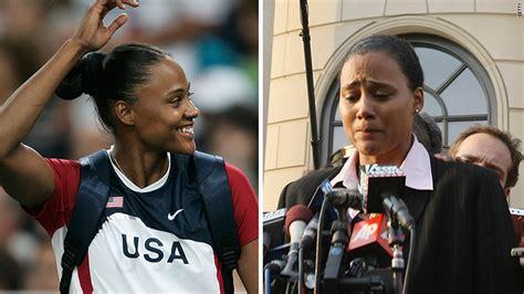 marion jones nikes long list  disgraced athletes