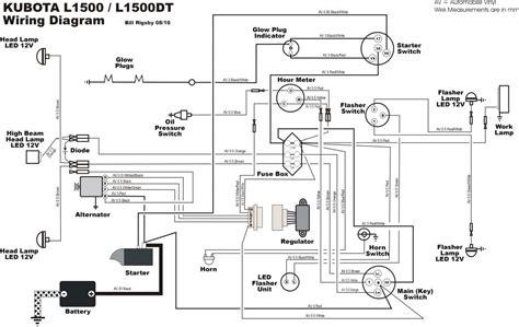 voltage regulator wiring diagram kubota somurich