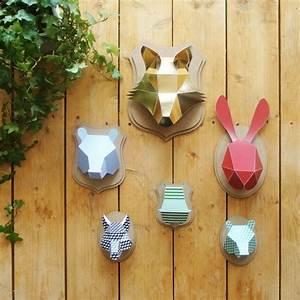 Trophée Animaux Origami : o trouver un faux troph e clem around the corner ~ Teatrodelosmanantiales.com Idées de Décoration