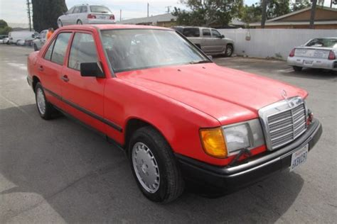 1986 mercedes 300e automatic 6 cylinder no reserve for sale mercedes 300 series 1986
