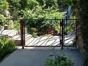 Gartenzaun Ideen Gestaltung : gartenz une aus metall bringen mehr stil in den au enbereich ~ Lizthompson.info Haus und Dekorationen