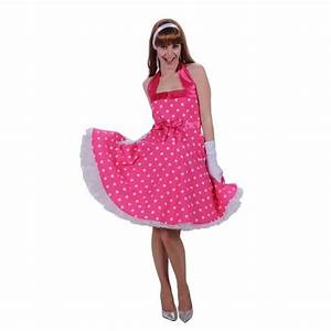 Robe Année 80 : robe ann e 60s rose be happy ~ Dallasstarsshop.com Idées de Décoration